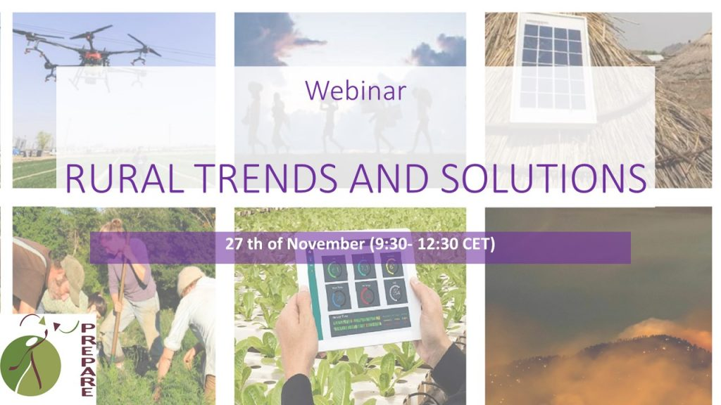 Webinar- Rural trends and Solutions (27th of Nov)